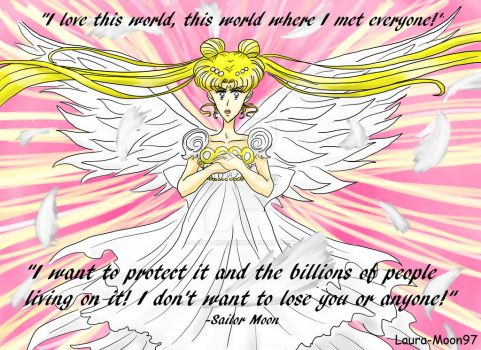 Sailor Moon Quote by Laura-Moon97