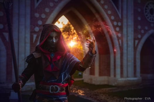The Witcher 3:  Mysterious Elf by RenShuher