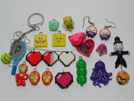 New Charms by Pandannabelle