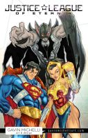 Justice League of Eternia colors by GavinMichelli