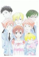 ouran high school host club by Alicia08