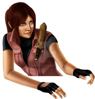 Claire Redfield (not ready) by ThelastA