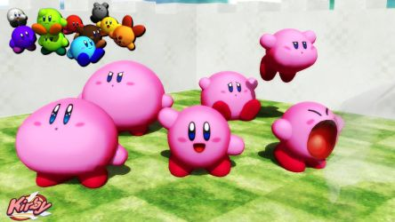 (MMD/XPS Model) Kirby V3 Download by SAB64