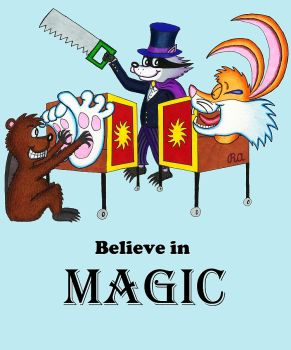 Believe in Tickling Magic by WalterRingtail
