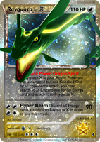 GLR205 - Rayquaza X by aschefield101