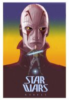Vintage Style Ralph McQuarrie Rebels Poster 2 by Brian-Snook