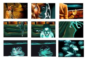 Storyboard-Phosphorescence by VanCityArtist