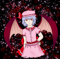 Remilia Scarlet For a Friend by Nana-C-Lover