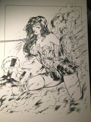 Wonder Woman Inks by devgear