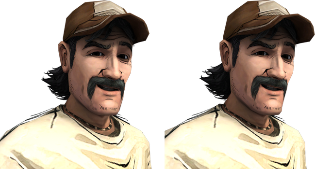 Kenny 3D Stereoscopic Render by Luigimariogmod