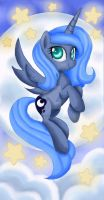 Stars and Moon Luna by Mel-Rosey