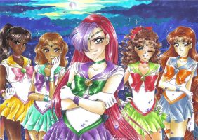 Gift: Team Lone Senshi by MTToto