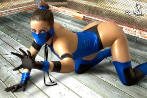 More Kitana by cosplayerotica