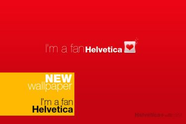I'm a fan Helvetica by skingcito