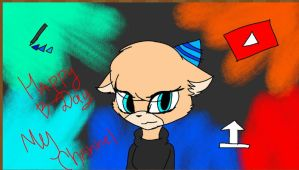 Happy B-Day my channel by astya45