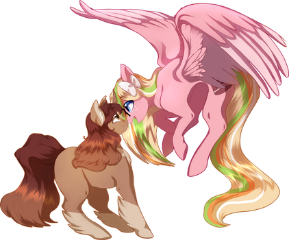 PeachyChime by WishfulVixen