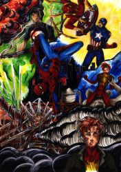 Spiderman: War is not that fun by PeaceMakerSama