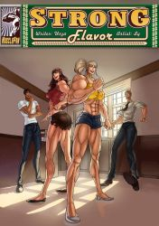 Strong Flavor - Bubblicious Muscle Babes by muscle-fan-comics