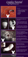 Tutorial - Big Fluffy Bunny Ears - GERMAN by Kanue