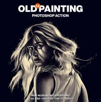 Old Painting Photoshop Action by hemalaya