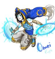 Omei the eliotrope by Fasy-Channel