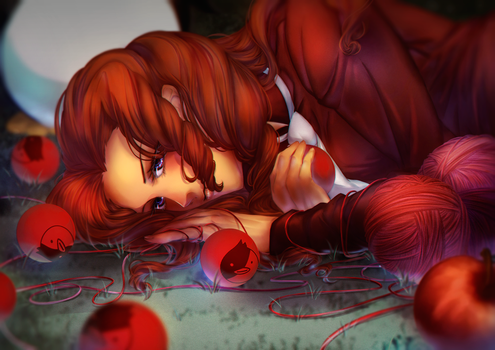 Red thread by april-ame