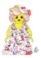 The One Made... of Hello Kitty by abart01