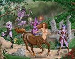 Centaur hunt by Valerian13