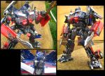 Optimus Prime repaint ROTF by predatorhunter79