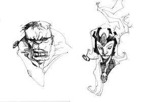 HULK and STORM by EricCanete