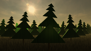 Geometric Primitives III: Deep in the Woods by hypex2772