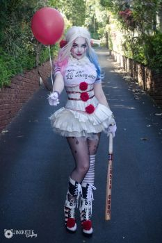 HARLEY QUINN / PENNYWISE MASHUP by JinxKittieCosplay