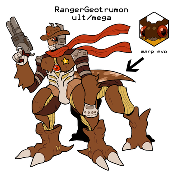 Rangergeotrumon for DigifakeWeek by Strontium-Chloride