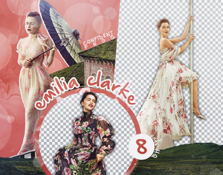 Png Pack 1124 // Emilia Clarke by confidentpngs
