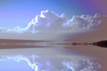 Cloud reflection stock by CathleenTarawhiti
