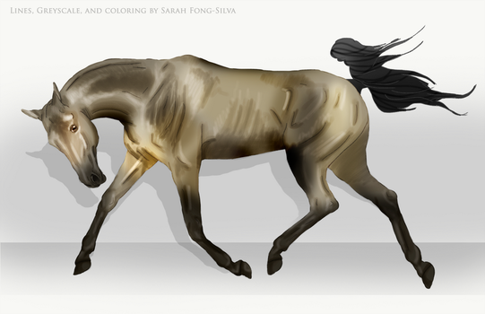 Akhal Teke Art by premiumbulldogs