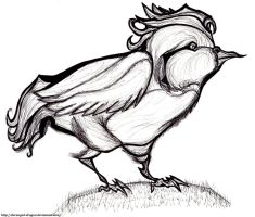 #17: Pidgeotto by Hisscale
