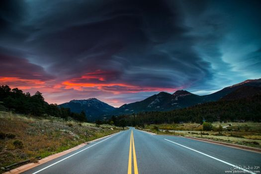 Lenticular Clouds Over Bear Lake Road by kkart
