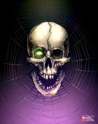 Skull Web by pitnerd