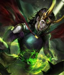 Loki by omegarer
