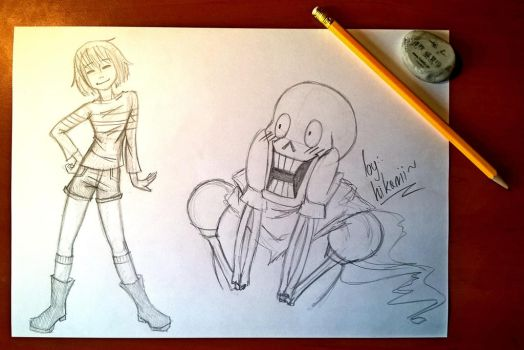 Posing as Papyrus by Hikarii-chan-tan