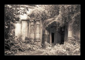 Highgate Cemetery - Last Exit by seancoetzer