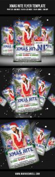 XMas Nite Flyer Template by MarioGembell