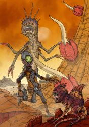 Monster planet by MetalSnail