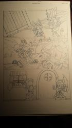 sonic comic origins ant pencils pg2 by trunks24