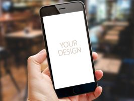 iPhone 6s Photorealistic Mockups by theanthnonyrich