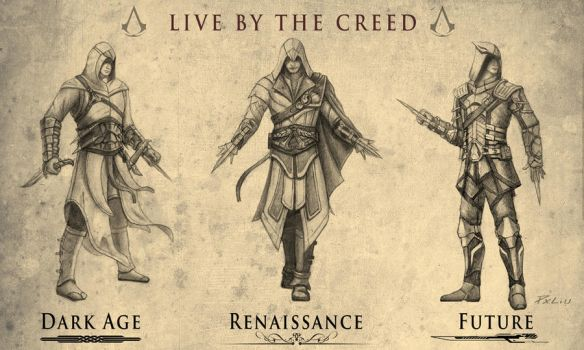 Live By The Creed by creative-horizon