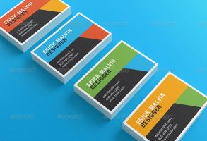 Business Cards Mock-up by Itembridge