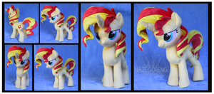 Sunset Shimmer Custom Pony Plush by Nazegoreng