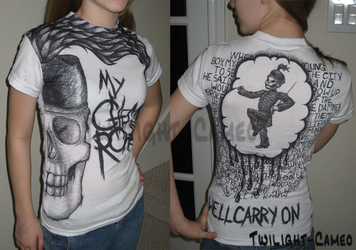 My Chemical Romance Shirt by Twilight-Cameo